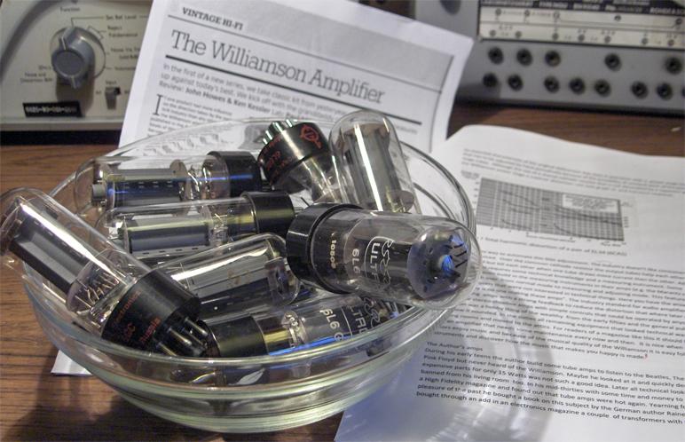 Amateur old tubes